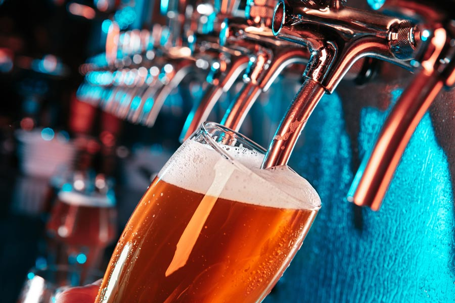 fresh craft beer at Asheville breweries