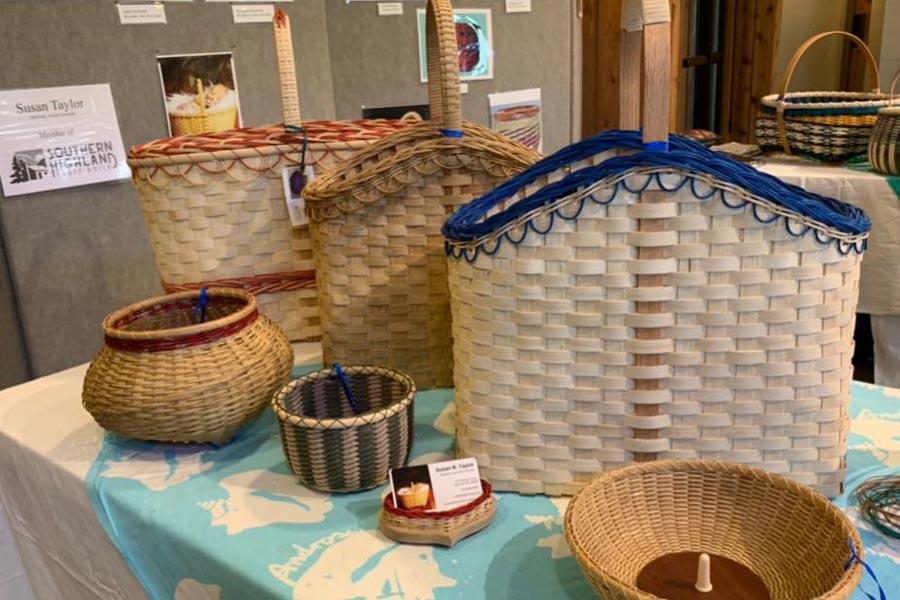 Southern Highland Craft Guild baskets